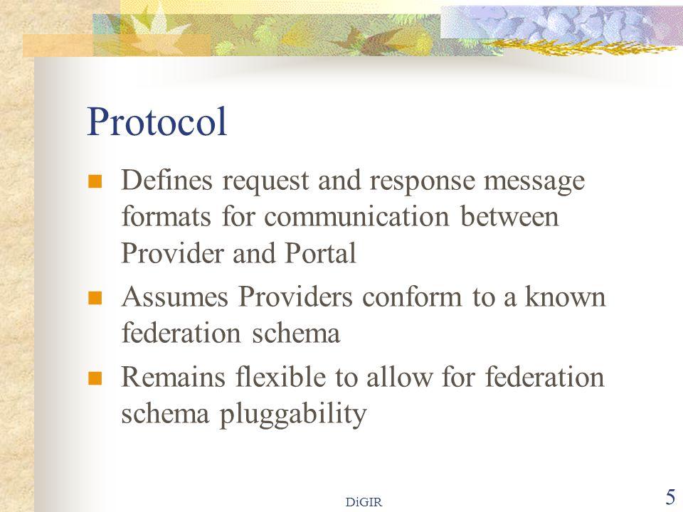 DiGIR 26 Provider Configuration