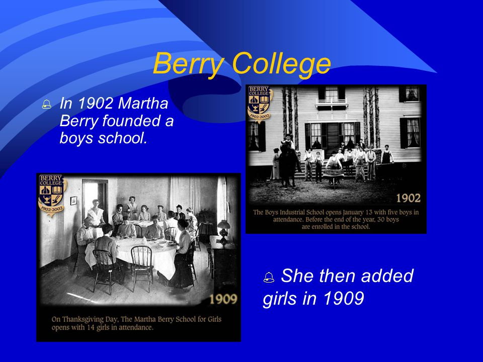 Martha McChesney Berry 1866-1942 The best way to help anyone is to give him a chance to help himself.