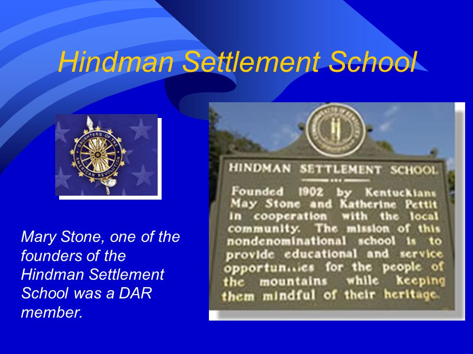 Hindman Settlement School  Summer Programs  After School Tutorials  Library and Bookmobile  4-H Program  Appalachian Life and Culture Programs  Artists in Residence  Author in Residence  Community Education  Clothing and Food for the Needy  GED