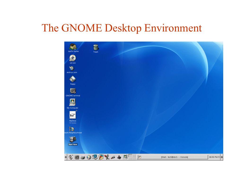 The GNOME Desktop Environment