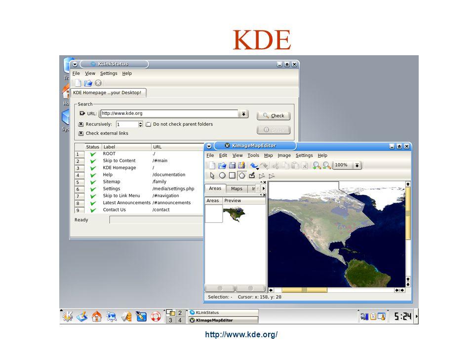 KDE http://www.kde.org/