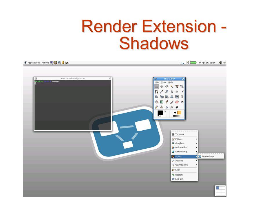 Render Extension - Shadows