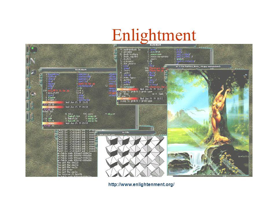 Enlightment http://www.enlightenment.org/