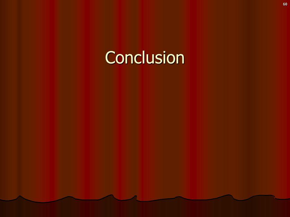 60Conclusion