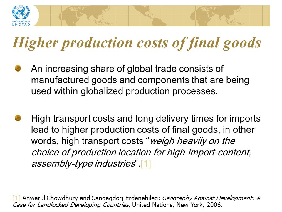 Reliability is everything Global supply chains consists of production of inputs from many countries increasing the need for reliable connections to suppliers and companies across borders.
