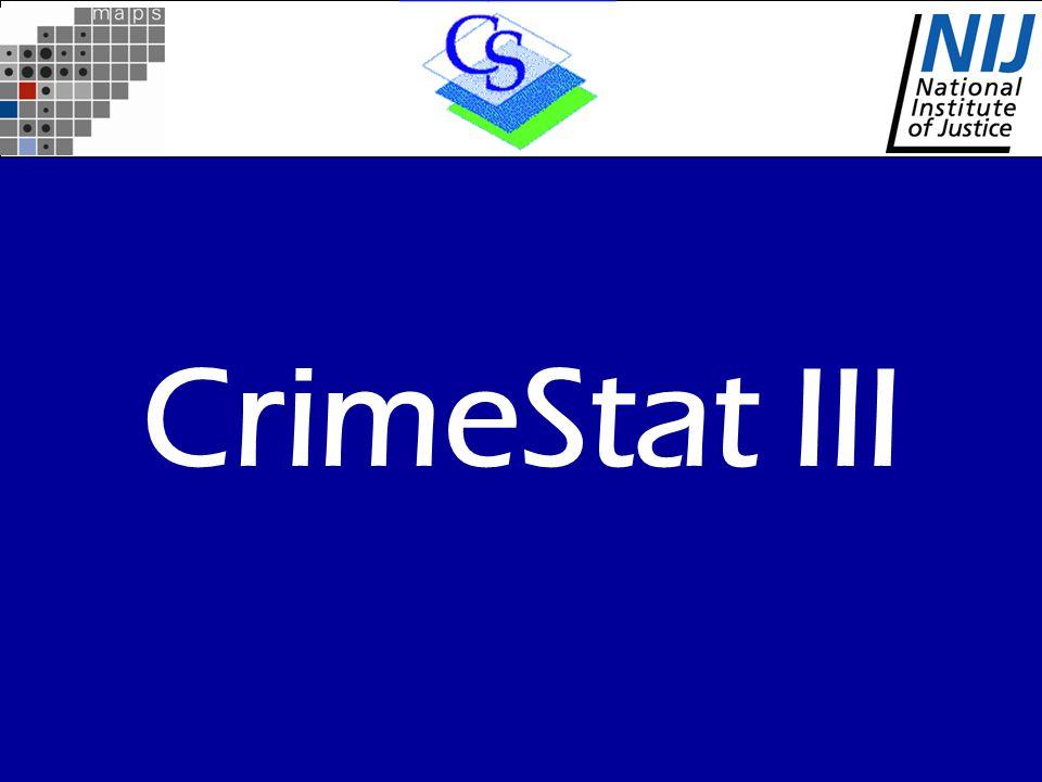 CrimeStat III