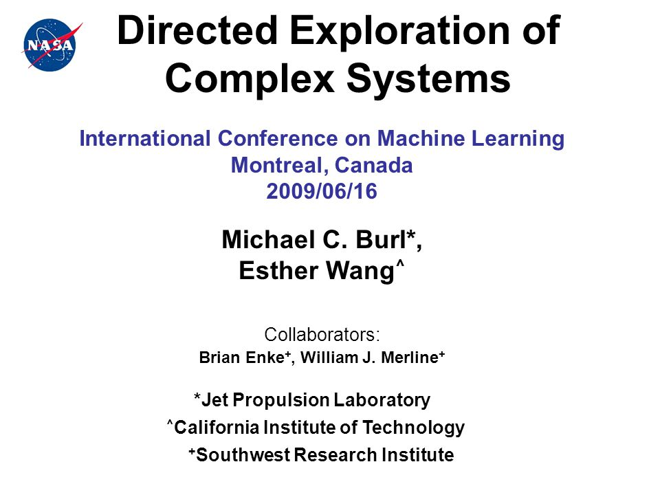 Overview Motivation: Physics-based simulations are widely used to model complex systems + high-fidelity representation of actual system behavior -- cumbersome and computationally expensive Goal: Build a simplified predictive model of system behavior and use this model to understand which input parameters produce a desired output (+1) from the simulator.