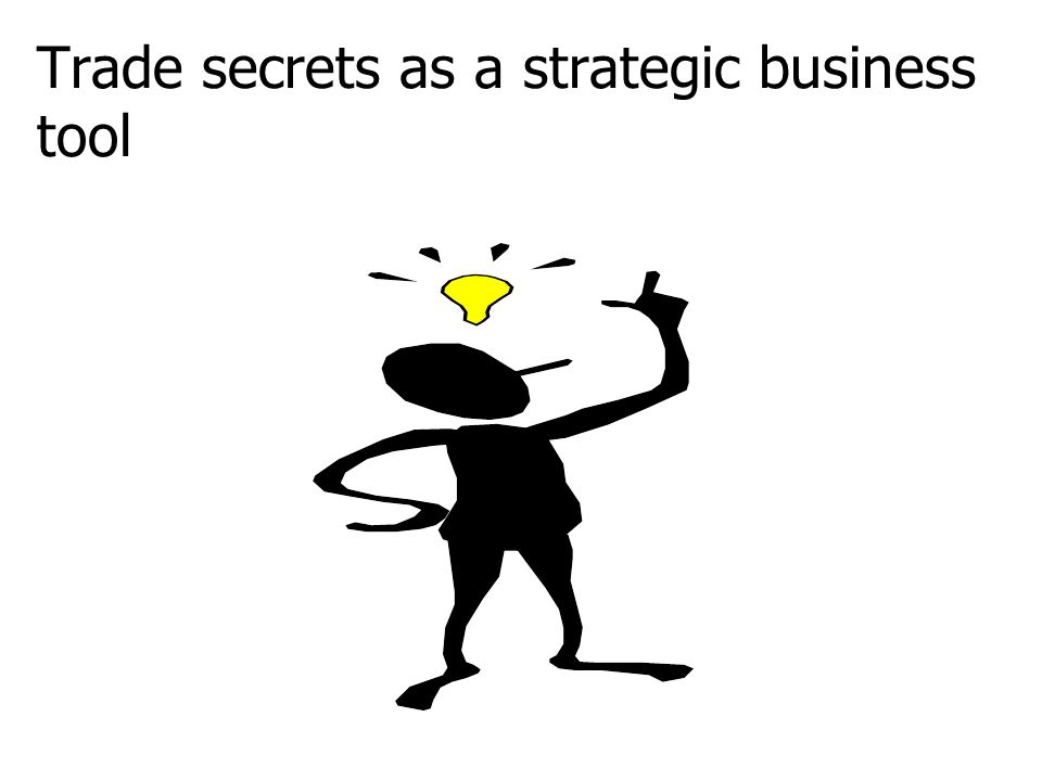 Trade secrets as a strategic business tool