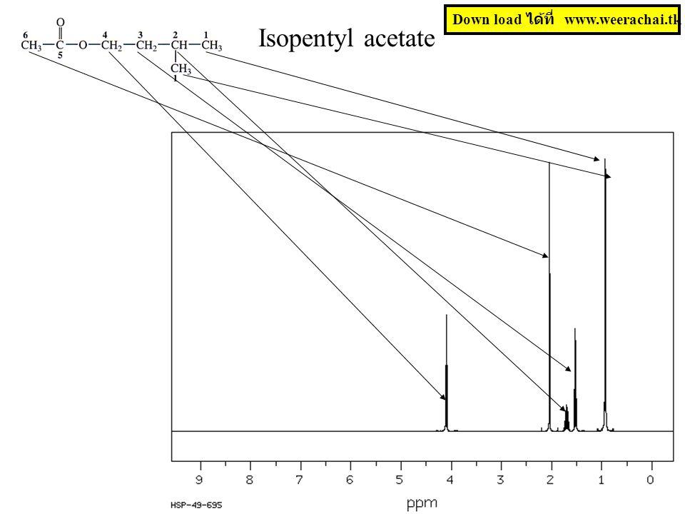 Isopentyl acetate Down load ได้ที่ www.weerachai.tk