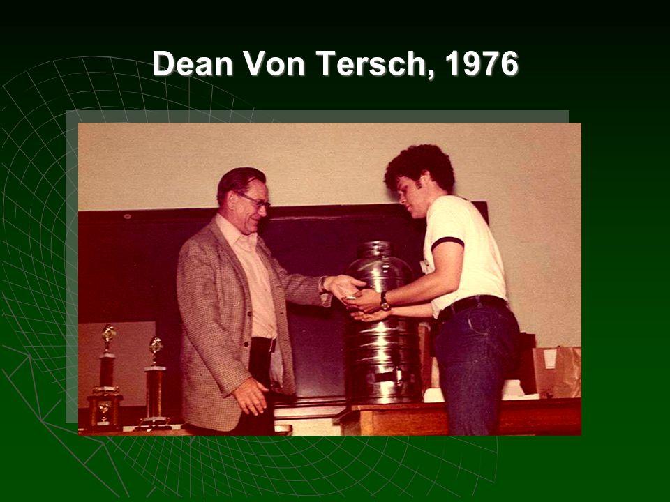 Dean Von Tersch, 1976