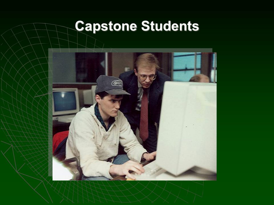 Capstone Students