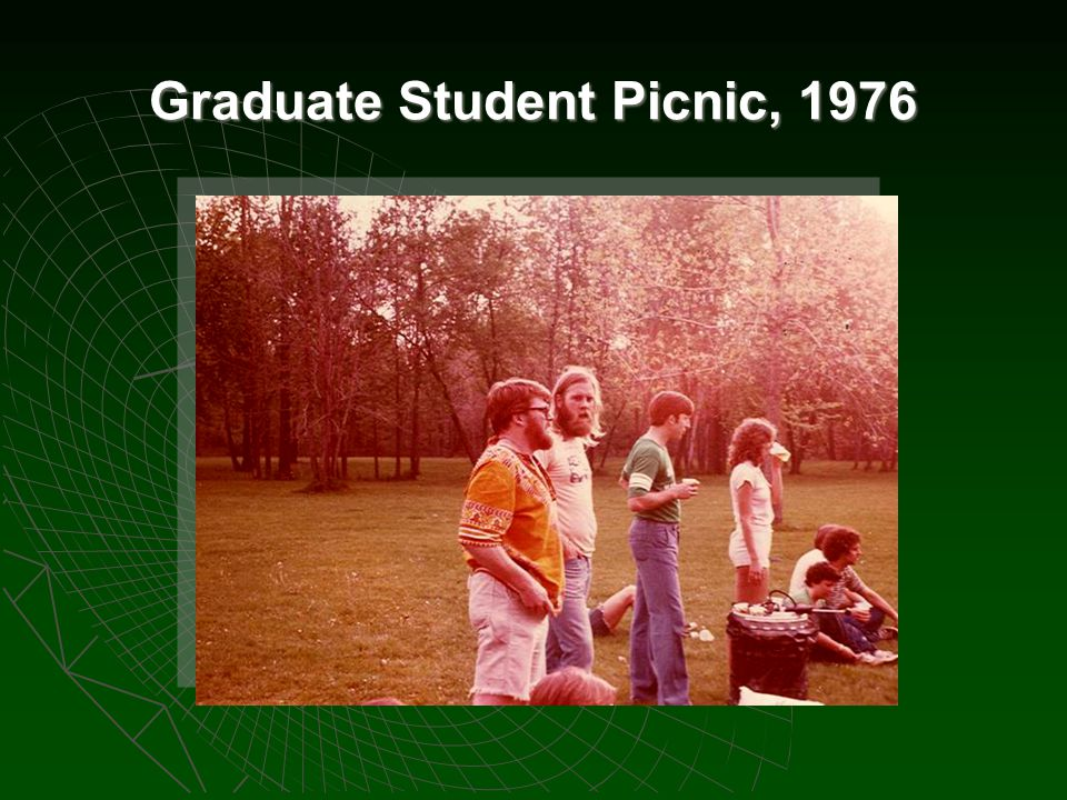 Graduate Student Picnic, 1976