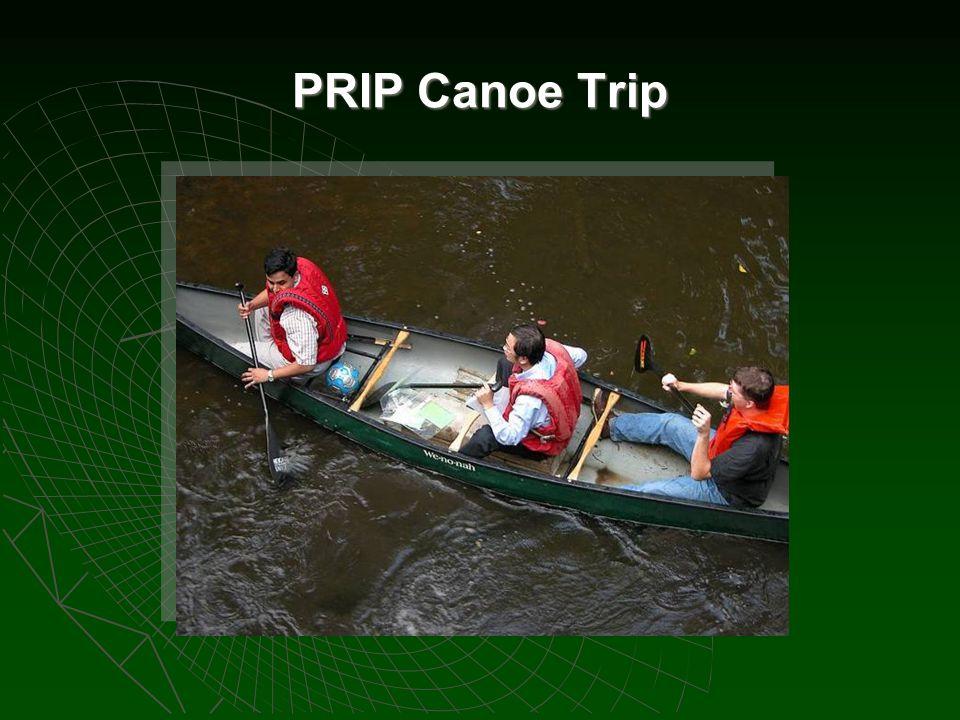 PRIP Canoe Trip