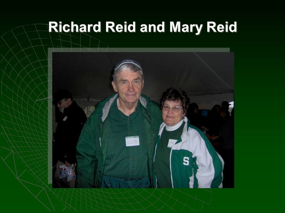 Richard Reid and Mary Reid