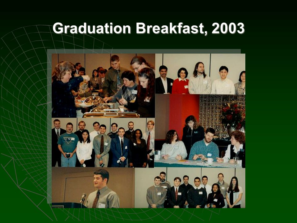 Graduation Breakfast, 2003