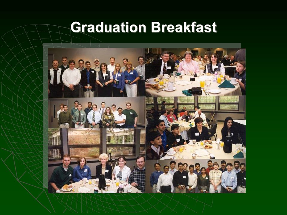 Graduation Breakfast