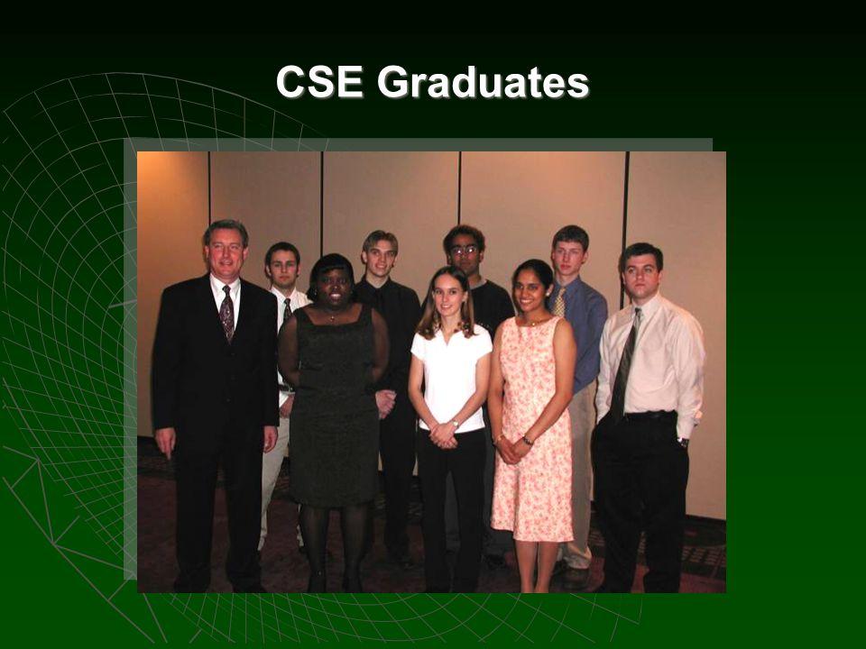 CSE Graduates