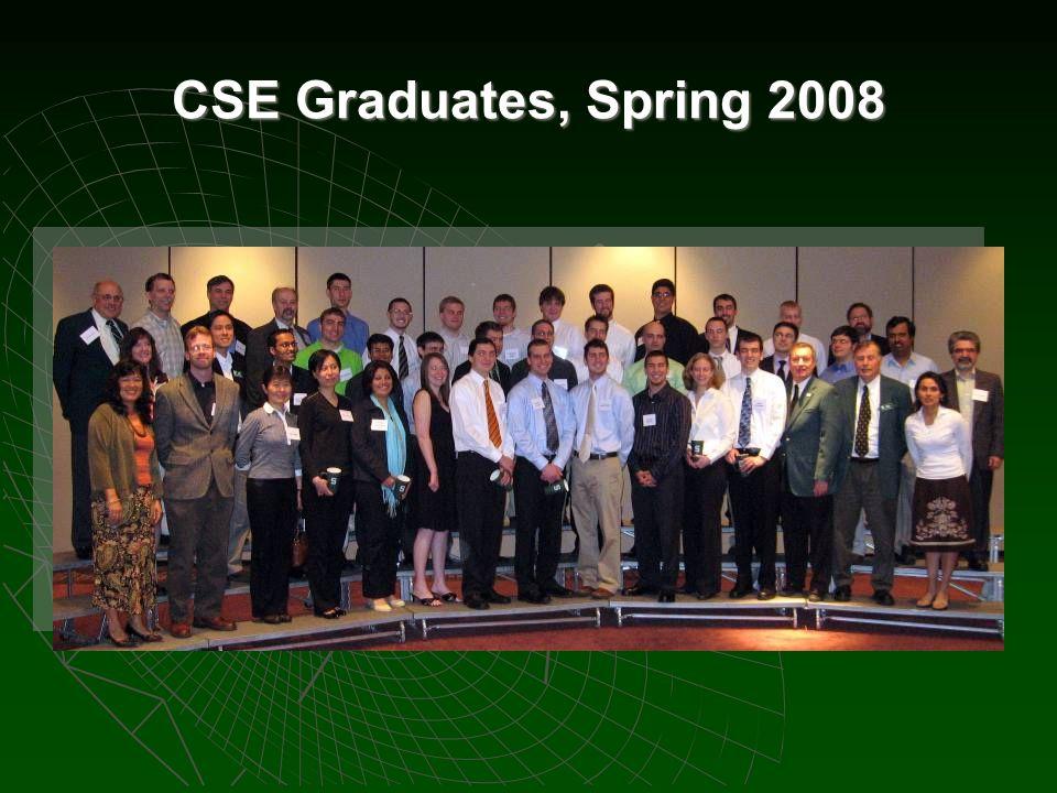 CSE Graduates, Spring 2008