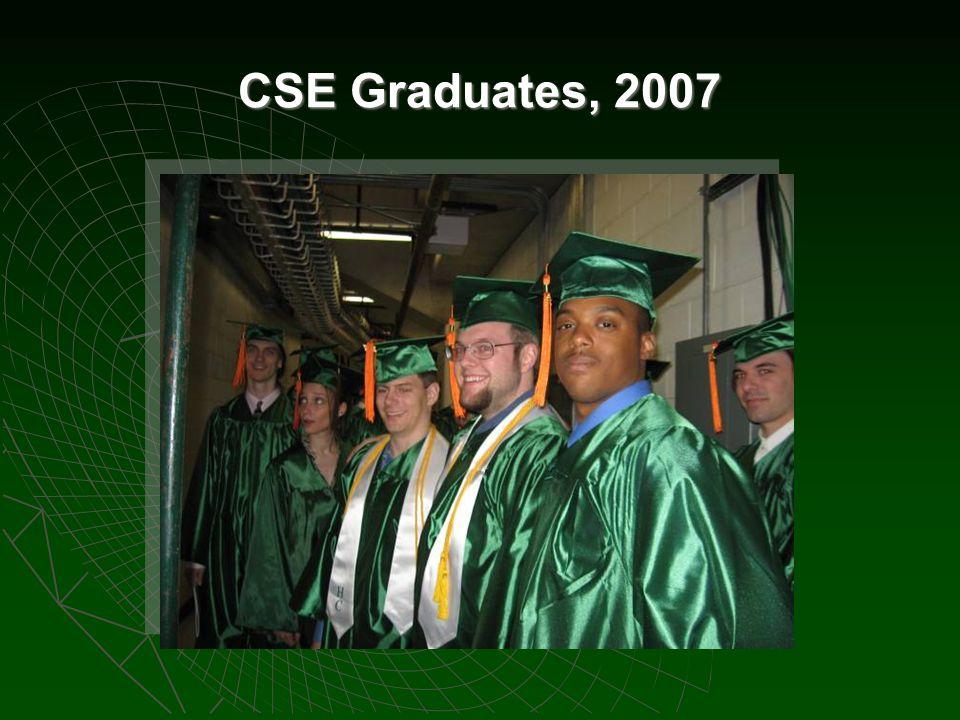CSE Graduates, 2007