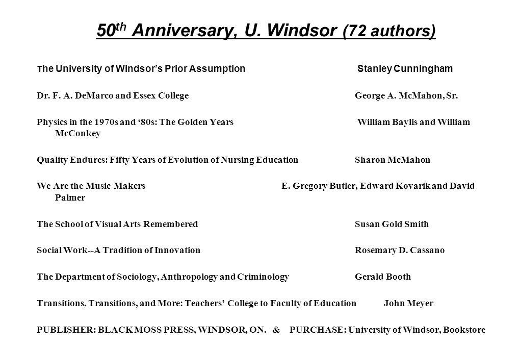 50 th Anniversary, U.