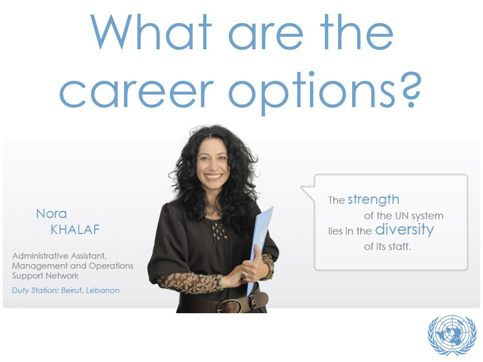 What are the career options?
