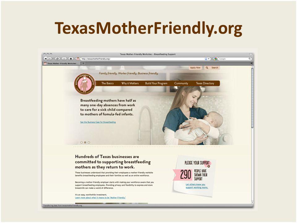 TexasMotherFriendly.org