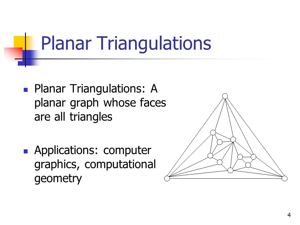 5 An Example: Terrain and Triangulations Geometric Modeling and Computer Graphics Research Groups, University of Genova