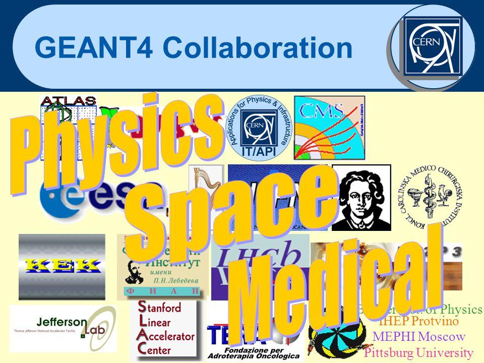 Jürgen Knobloch 2 November 2001 21 GEANT4 Collaboration Budker Inst. of Physics IHEP Protvino MEPHI Moscow Pittsburg University