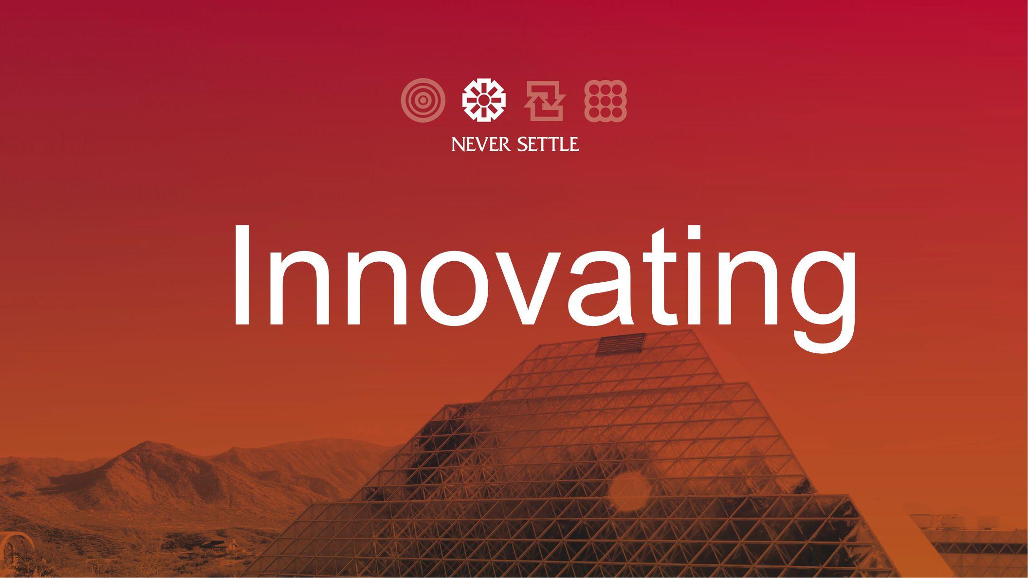 Innovating