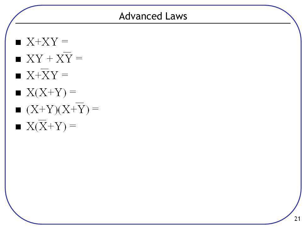 21 Advanced Laws