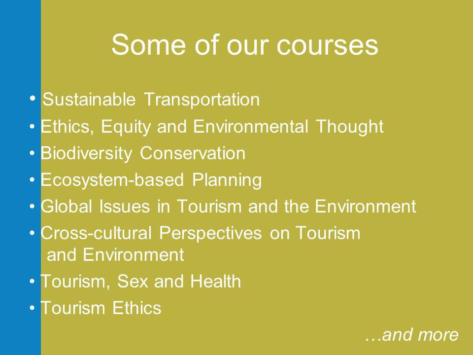 Seminars: what goes on.