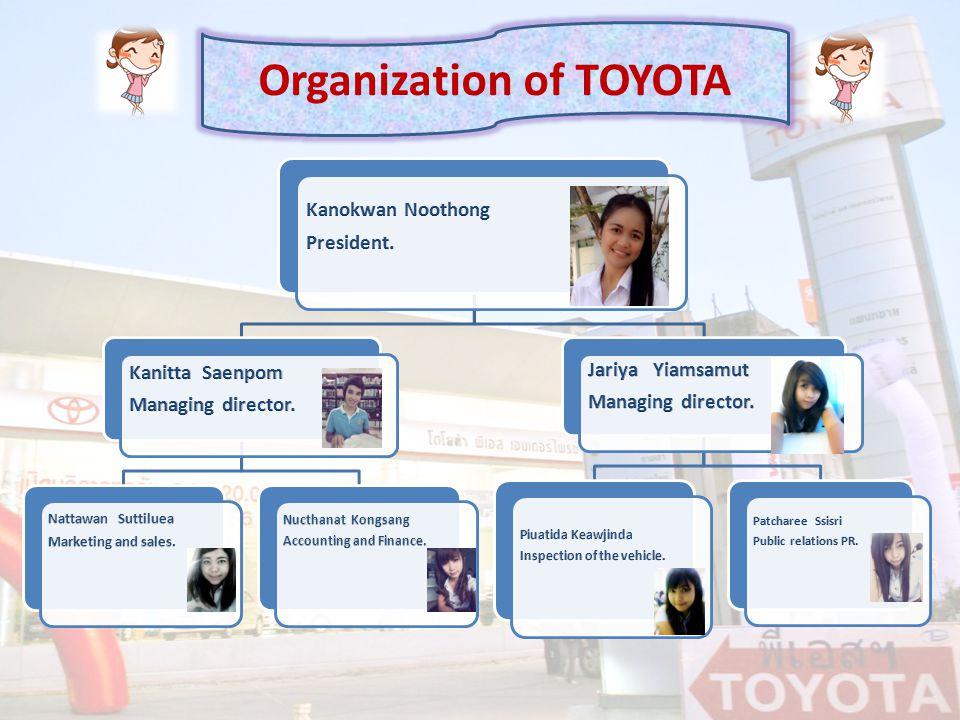 Organization of TOYOTA