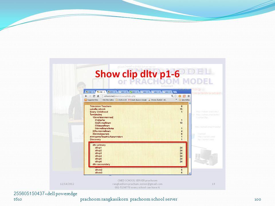255605150437+dell poweredge t610prachoom rangkasikorn prachoom school server100