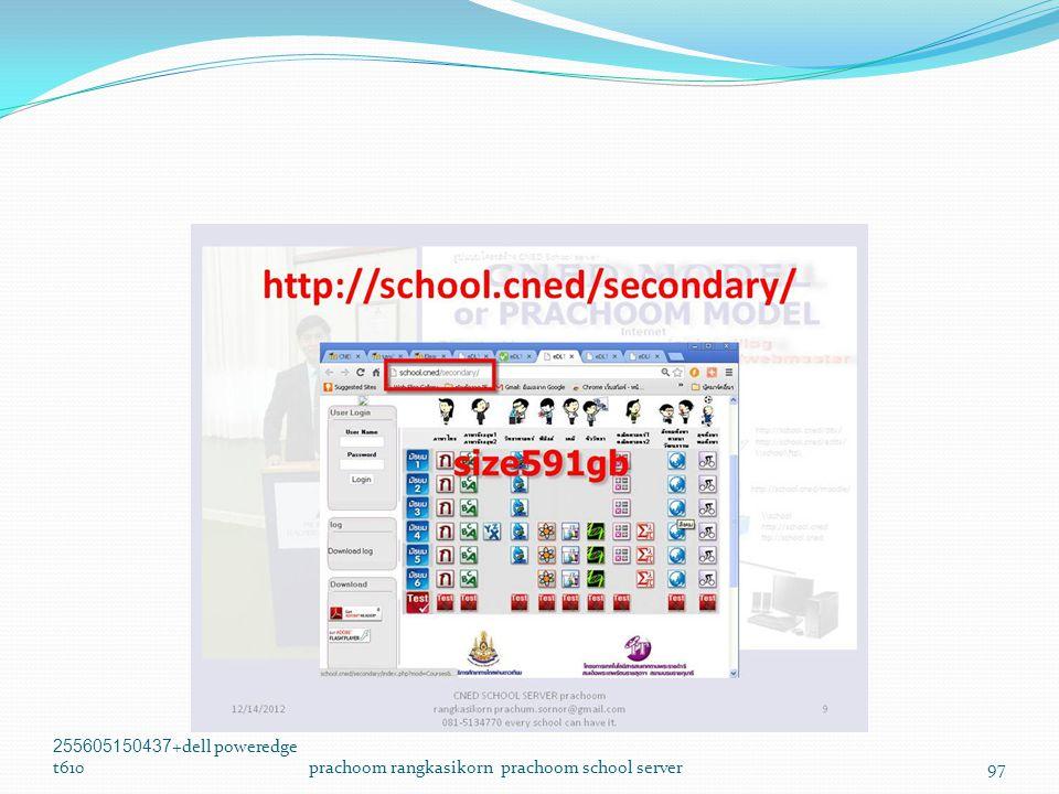 255605150437+dell poweredge t610prachoom rangkasikorn prachoom school server97