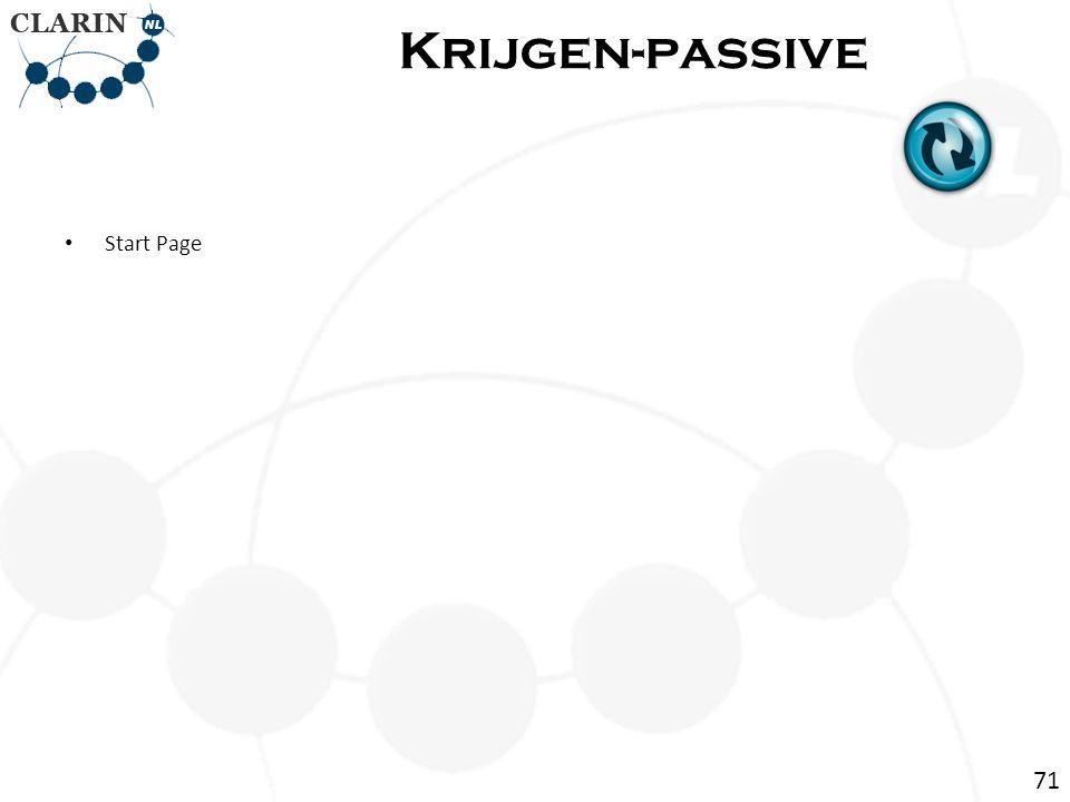 • Start Page Krijgen-passive 71