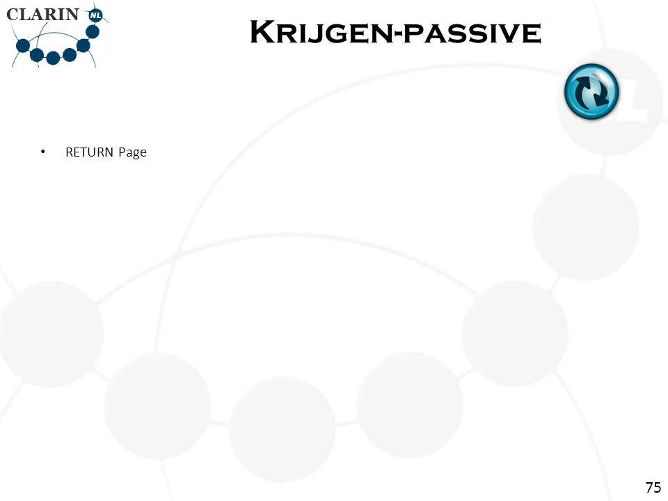 • RETURN Page Krijgen-passive 75