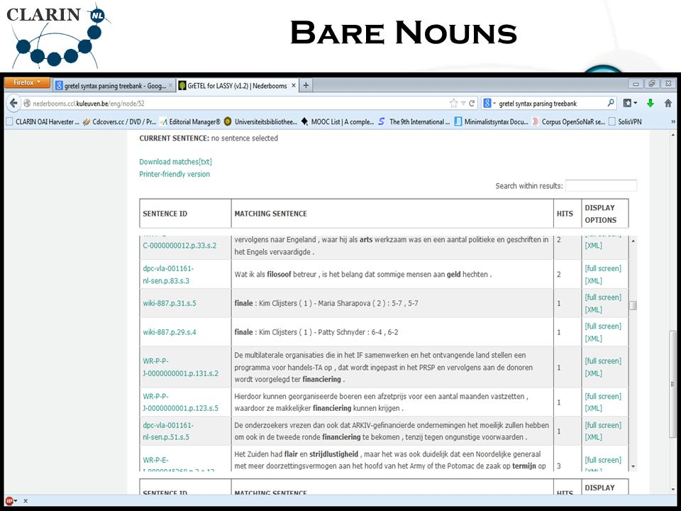 • RETURN Page Bare Nouns 80