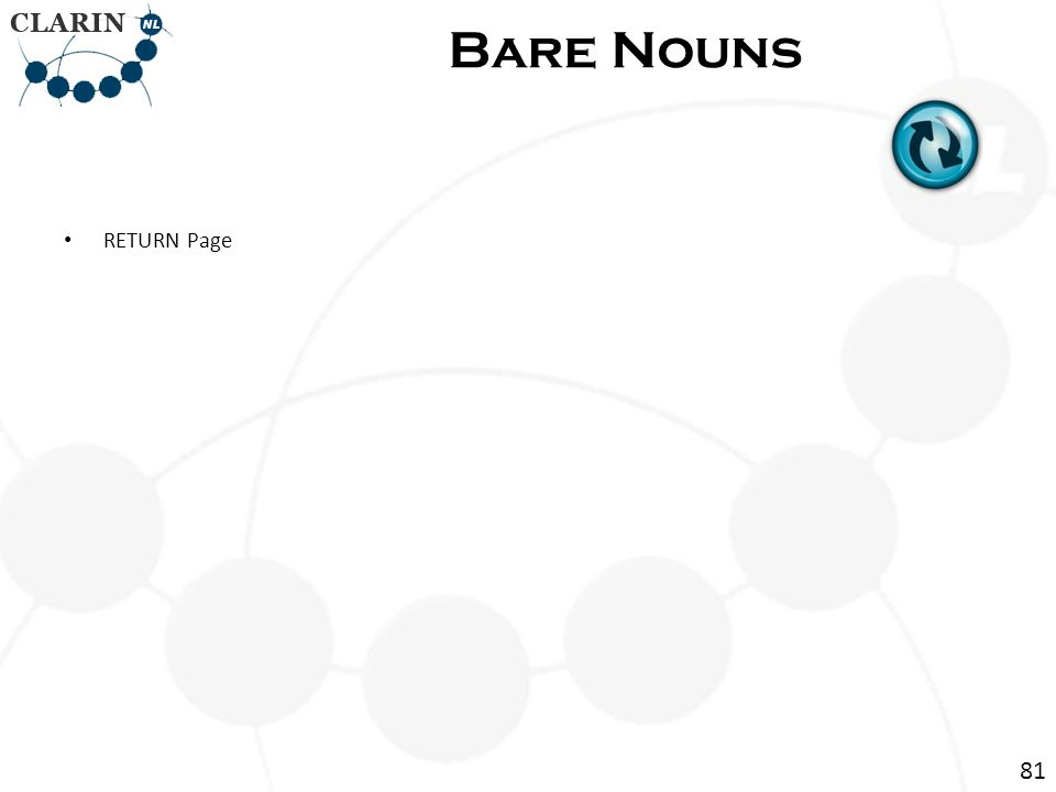 • RETURN Page Bare Nouns 81