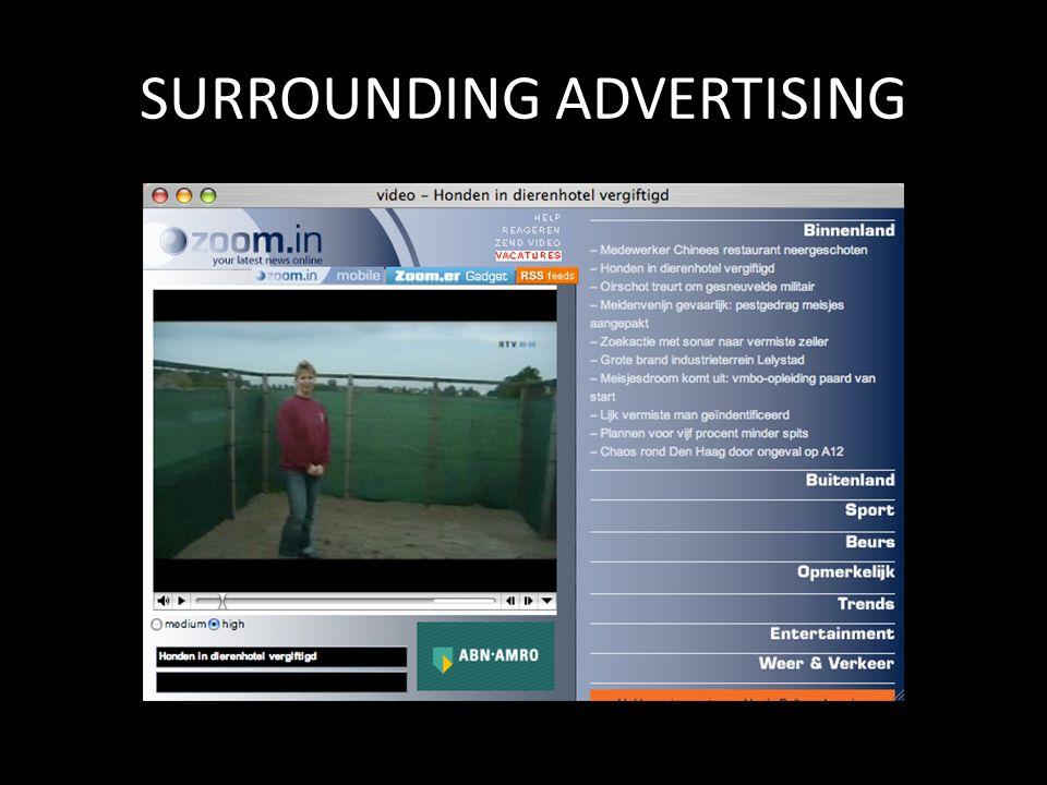 SURROUNDING ADVERTISING