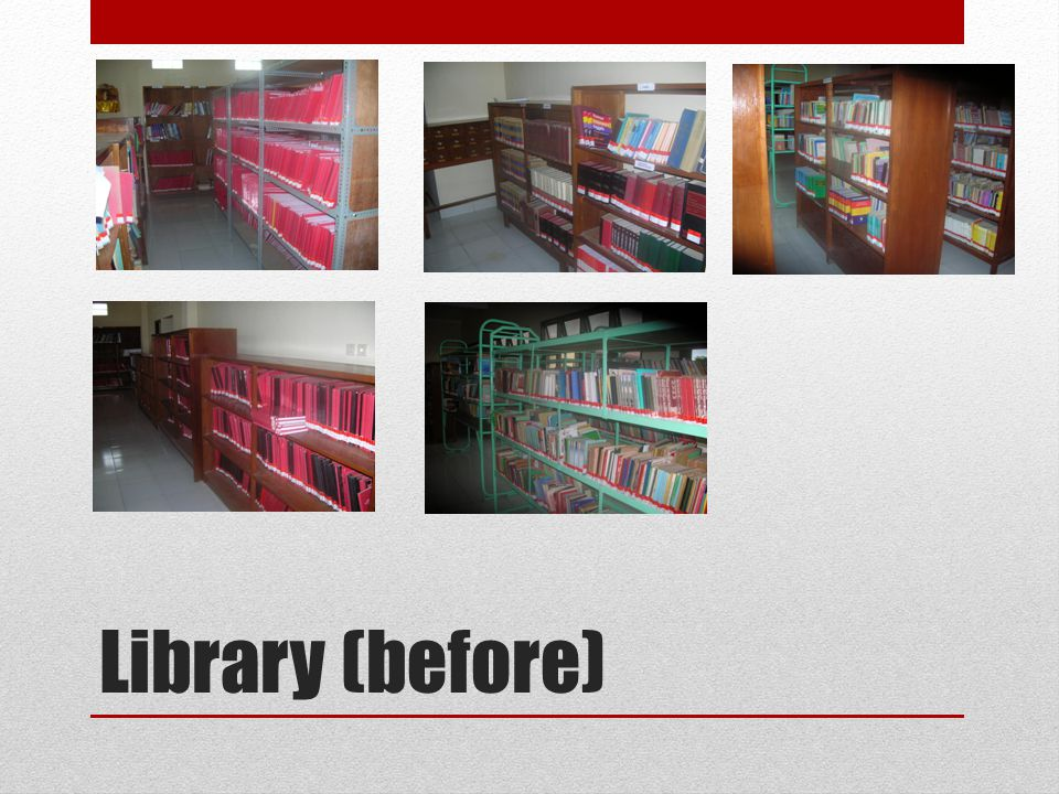 Library (before)