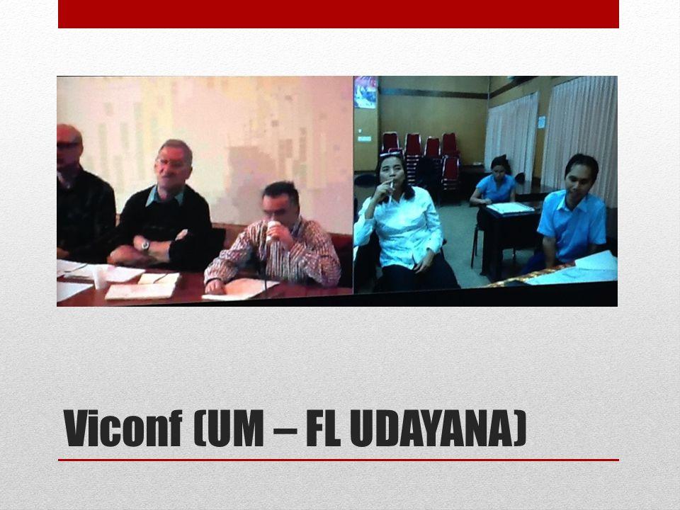 Viconf (UM – FL UDAYANA)