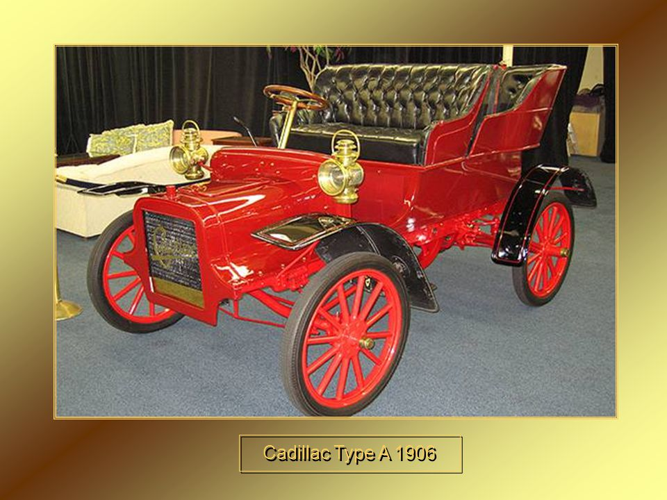 Cadillac Type A 1906