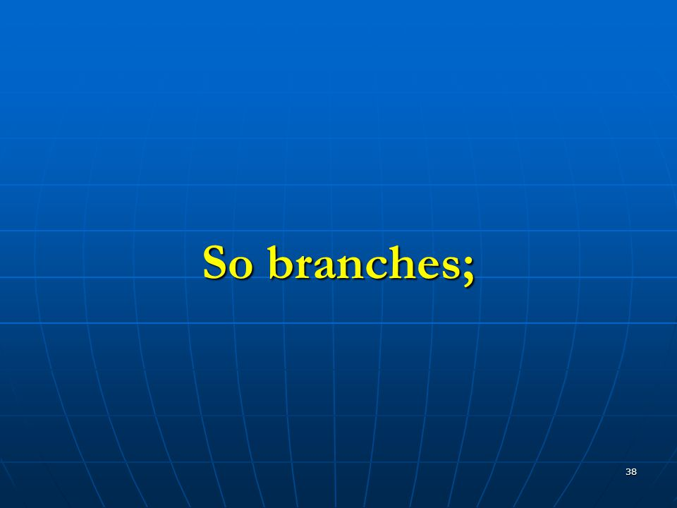 38 So branches;