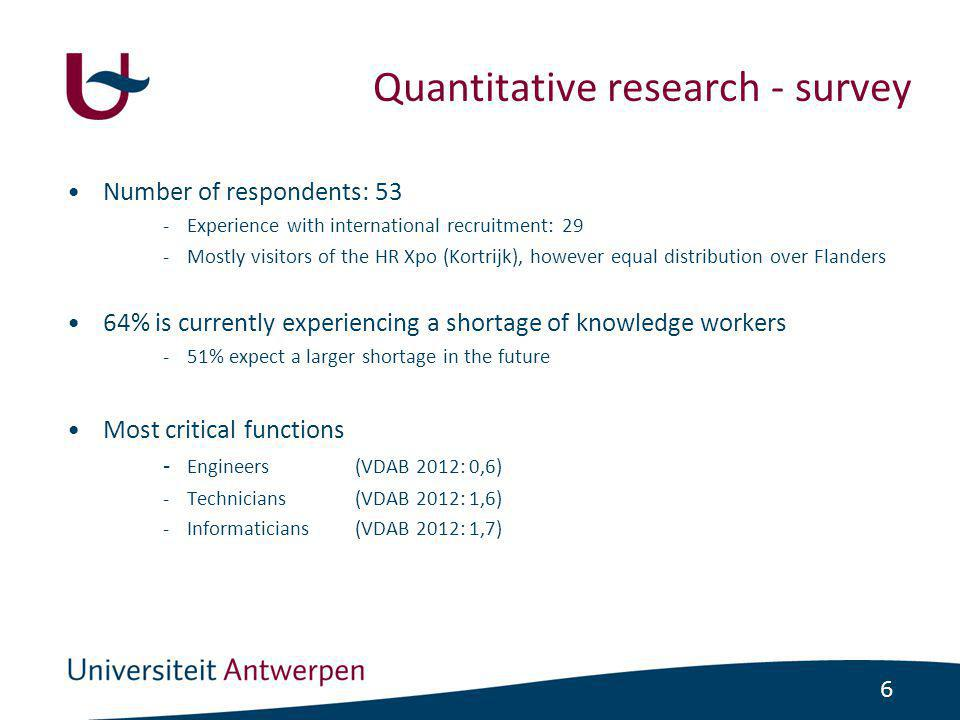 17 •Potential obstacles 1.Legal and administrative difficulties 2.Cultural differences 3.Equivalence of diplomas 4.Language and integration •Advantages of international recruitment -Finding the right workers to fill the vacancies -Increase of the differentiation and creativity No disadvantages if one cooperates with an external recruitment agency.
