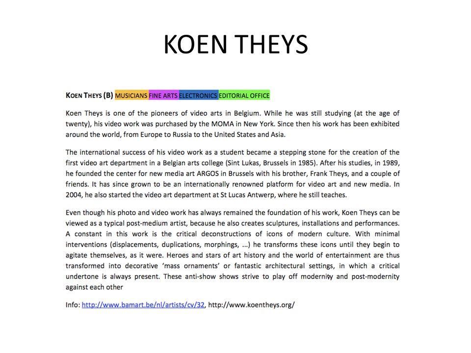 KOEN THEYS