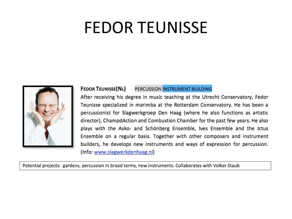 FEDOR TEUNISSE