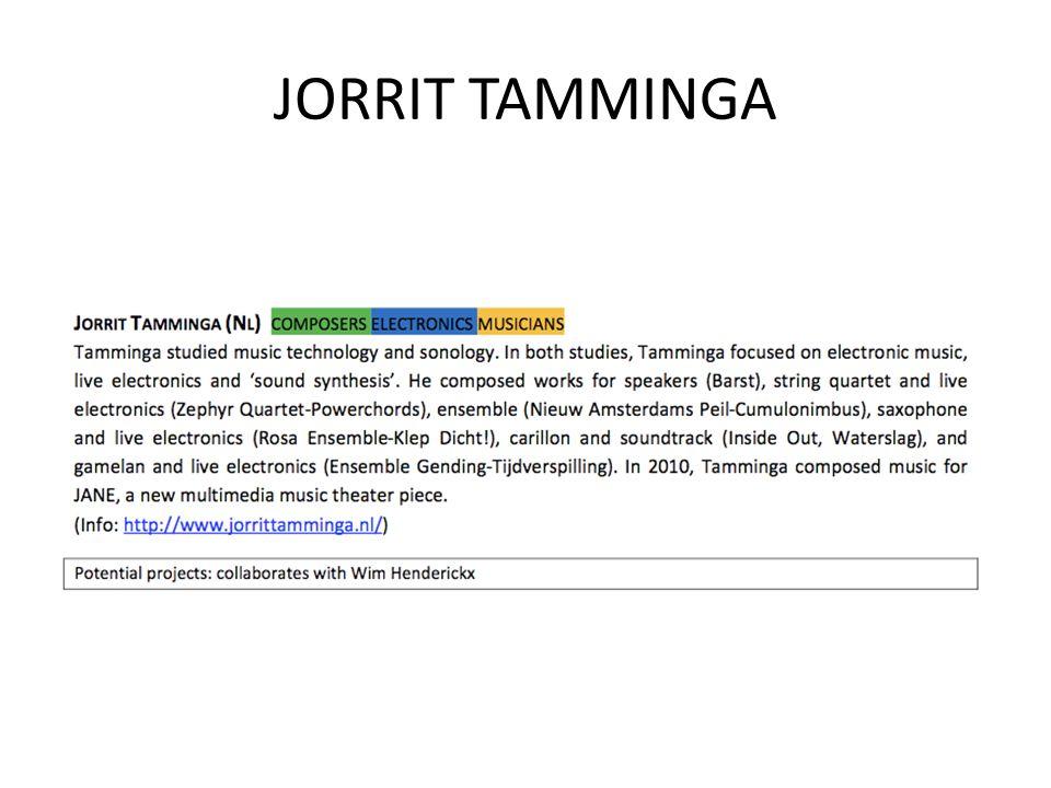 JORRIT TAMMINGA