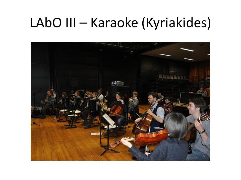 LAbO III – Karaoke (Kyriakides)