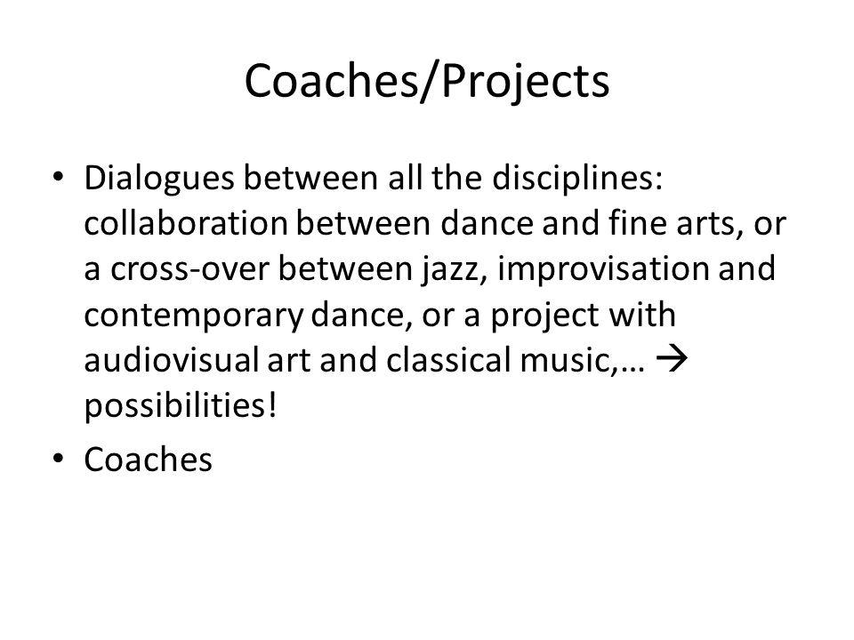 • Not only art-worlds (dance, music, visual).