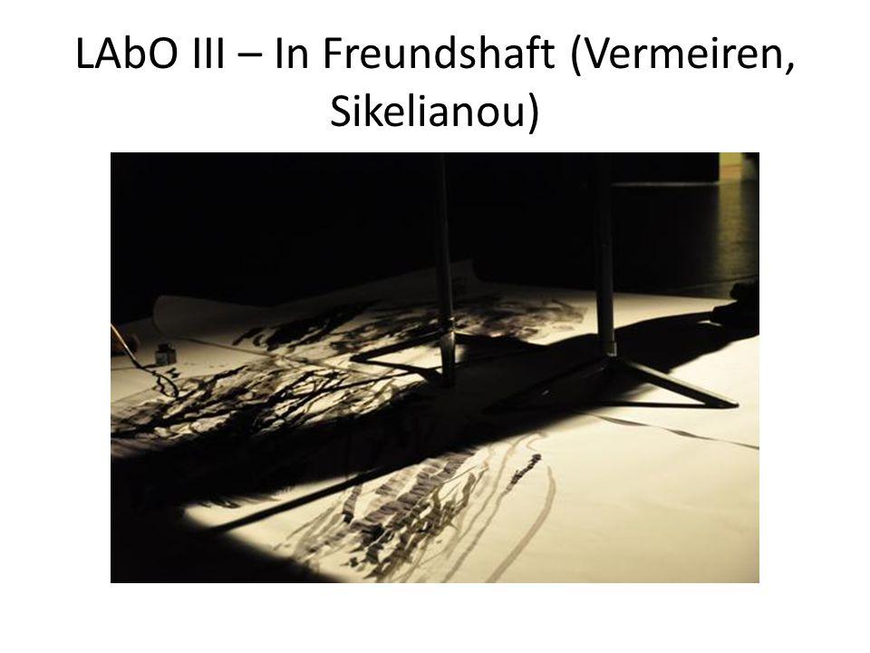 LAbO III – In Freundshaft (Vermeiren, Sikelianou)
